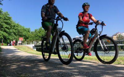 Unterwegs mit dem E-bike in Slowenien