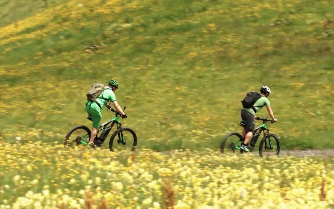 Unterwegs mit dem E-bike im Salzburger Land Teil 2
