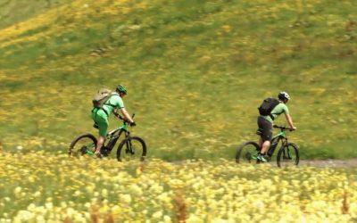 Unterwegs mit dem E-bike im Salzburger Land Teil2