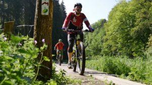 Unterwegs mit dem E-bike Luxemburg